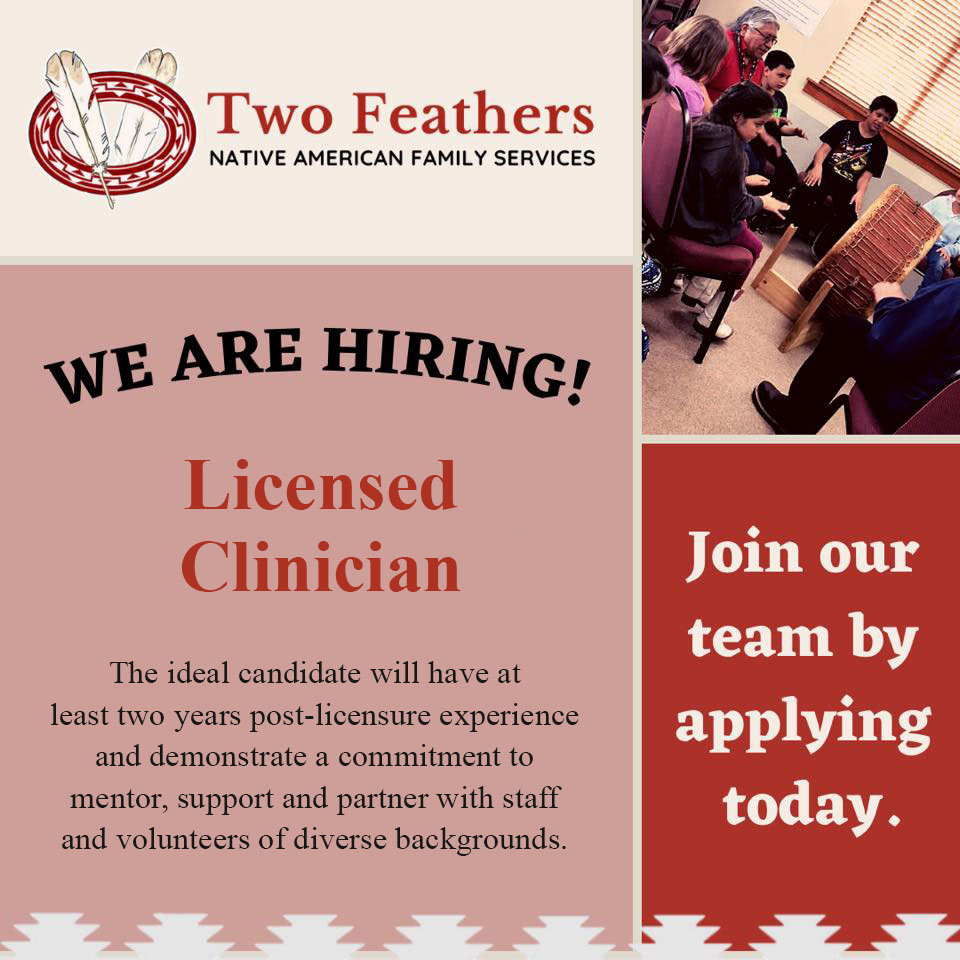 We Are Hiring - Licensed Clinician - Join Our Team By Applying Today